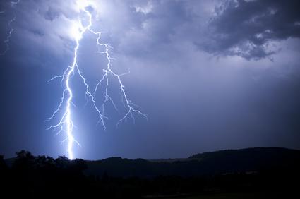 Blackout durch Blitzeinschlag