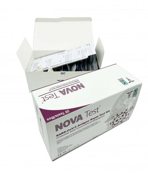 NOVA Antigen-Schnelltest | SARS-CoV-2 | 20 Tests / Box