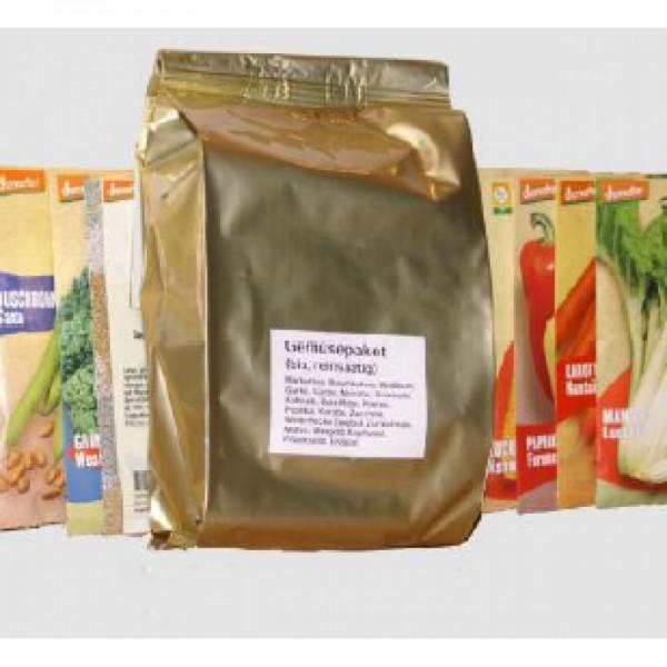 Gemüsesaatgut-Bevorratungspaket
