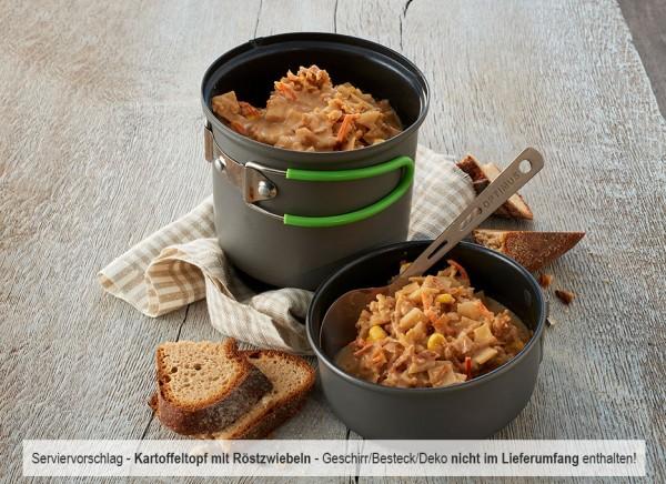 60 Tage Paket mit Fleisch-, Reis- & Nudelgerichten