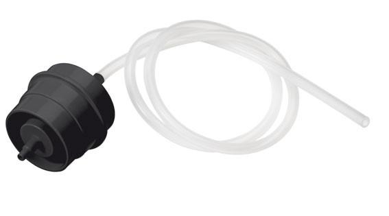 Aktivkohlekartusche - Flaschenadapter