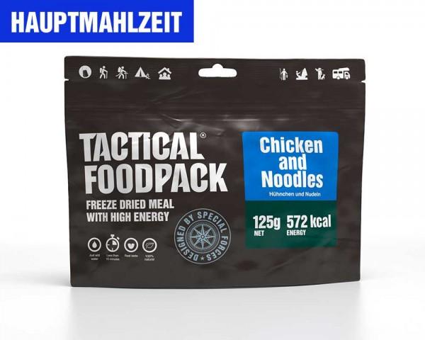 Nudelgericht mit Hähnchen   Chicken and Noodles