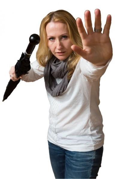 Sicherheitsschirm für Damen
