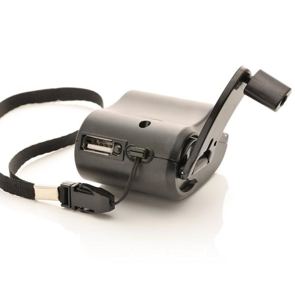 Ladegerät mit Dynamo & USB Anschluss