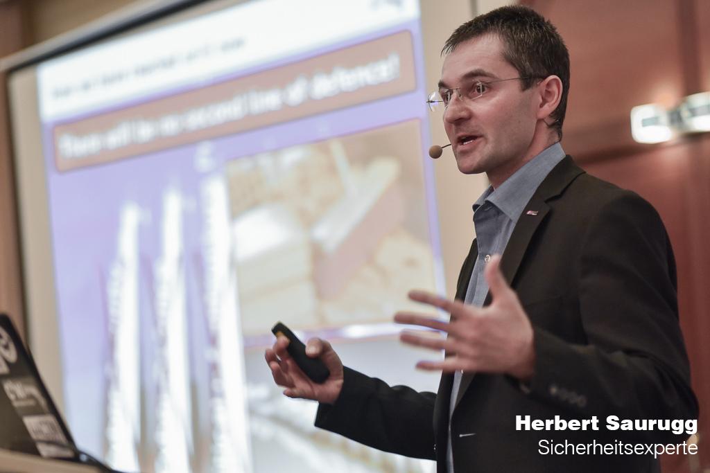 Sicherheitsexperte - Herbert Saurugg